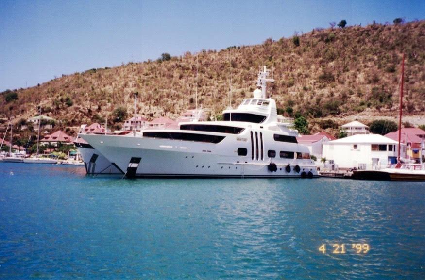 yacht st bart