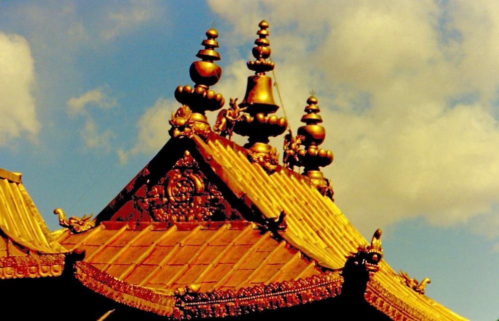forbidden city roof