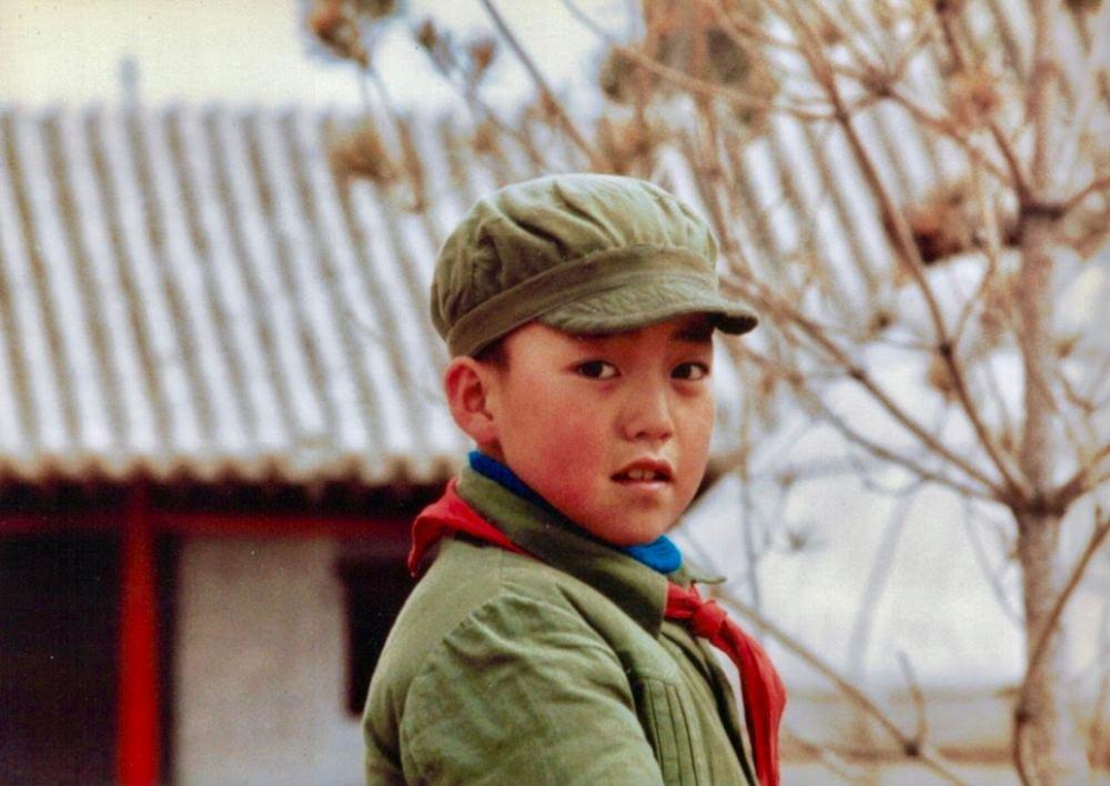 mao boy scarf