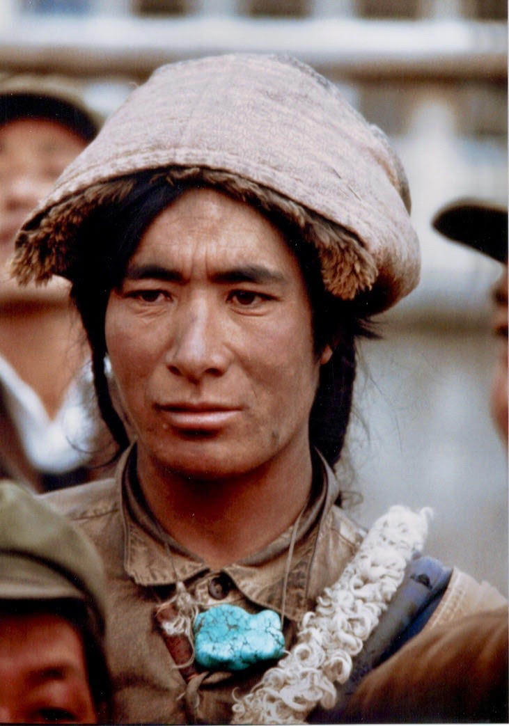 Tibet Turquoise Man