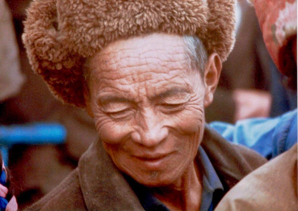 tibetan older man