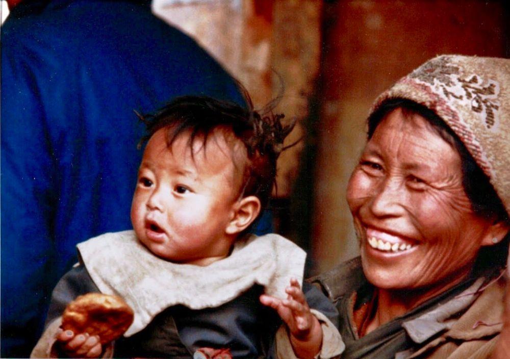 wrinkled grandma tibetan